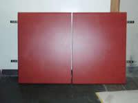キッチン吊り戸棚の復元