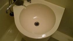 研磨&コーティングで浴室を再生