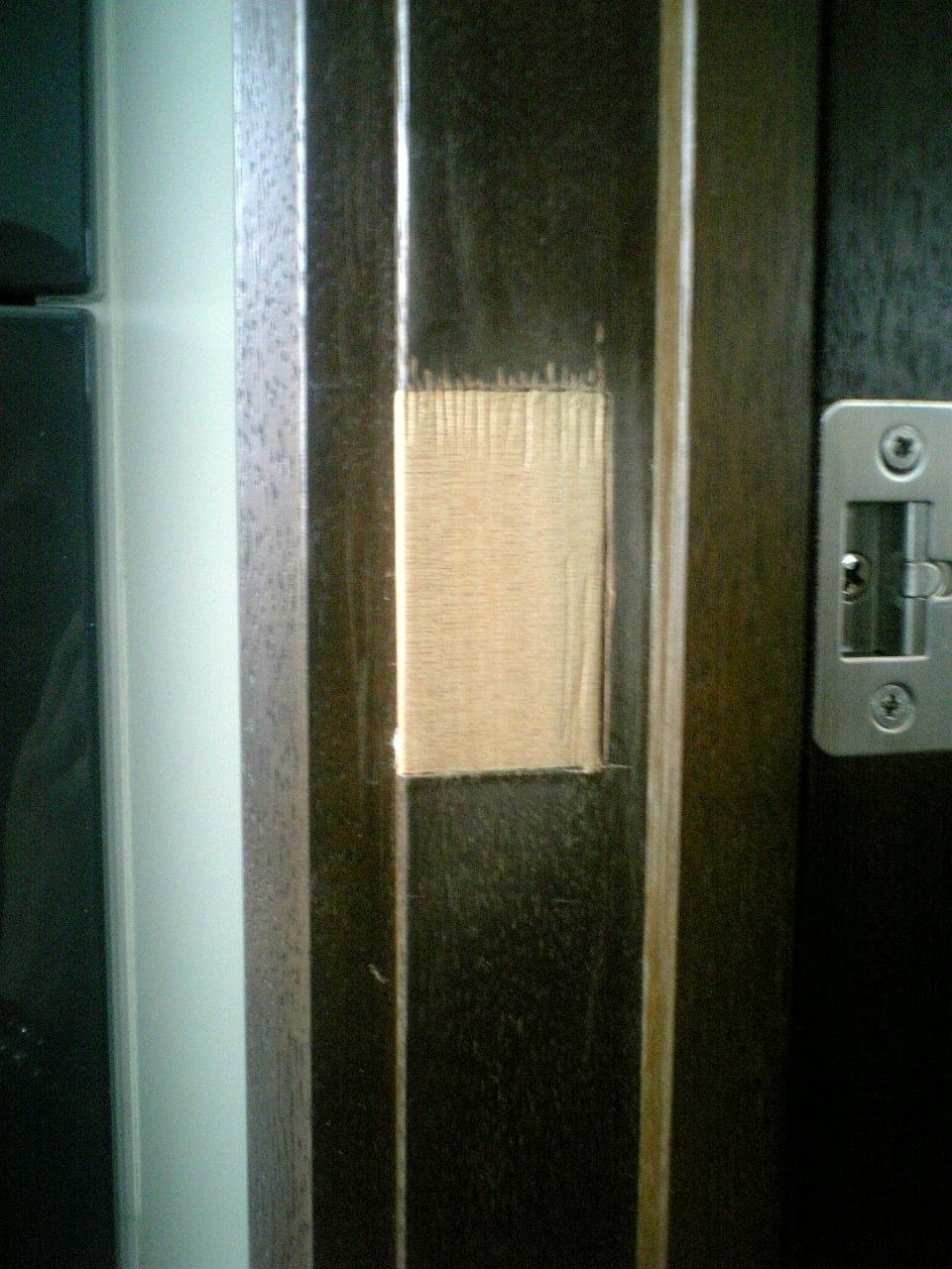 木枠塗装補修